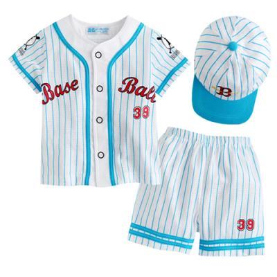 한국 생산 야구 상하3종세트 블루 (3-36개월) 201405