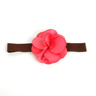 [헤어보우]Lovely Flower 베이비밴드-Coral