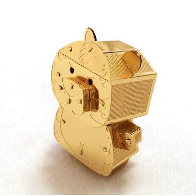 [이노메탈퍼즐] 곰 금속조립키트 (MIK000416)메탈웍스