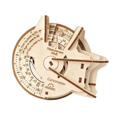 109피스 목재 입체퍼즐 - 유기어스 곡선계