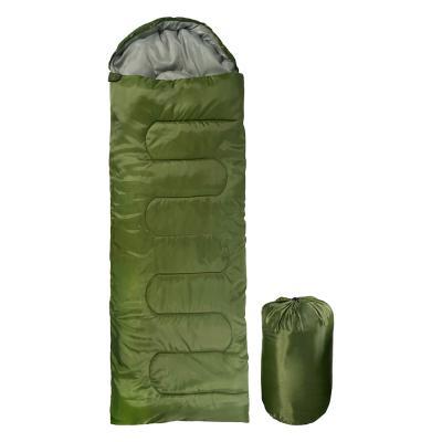 자니 캠핑 사계절 경량 침낭 1300g 카키 동계 겨울