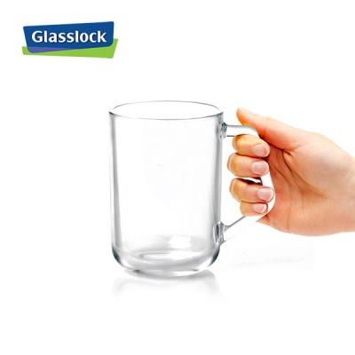 글라스락 강화유리컵 이지그립머그 350ml 4조
