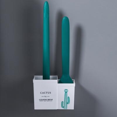 [1+1] 더블 브러쉬 선인장 변기솔