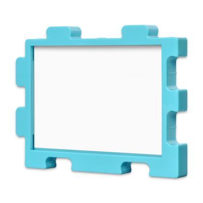 퍼즐액자 10x14.7 고급형 연결액자 블루