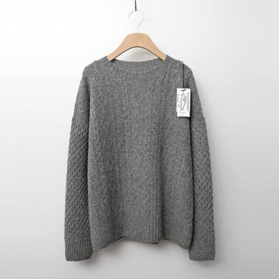 Maille Cashmere Wool Twist Sweater