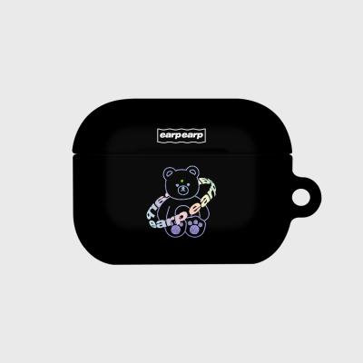 Twinkle gem bear-black(Hard air pods pro)