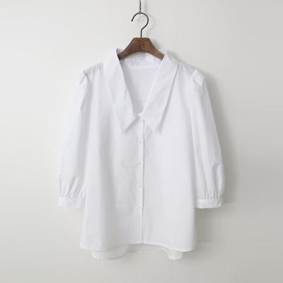 Sera Collar Puff Shirts