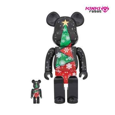 400%+100%BEARBRICK Stained-glass Tree (1712006)