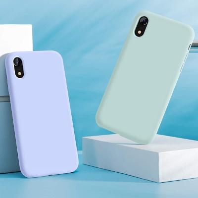 요이치 아이폰 xr 정품 실리콘 케이스