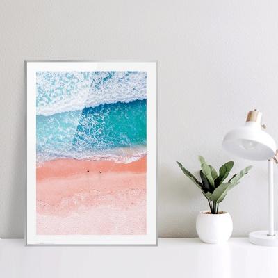 여름 바다 해변 풍경 포스터 vol.1_SB01(핑크 해변)