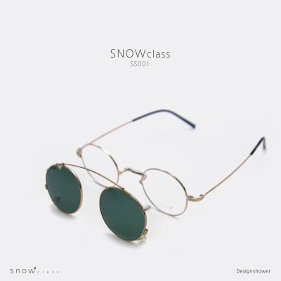 김종필안경 - 스노우클래스 SS001  코받침없는 안경