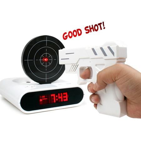 Gun Alarm Record Clock (권총알람레코드시계)