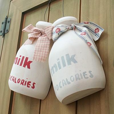 우유병 데코소품