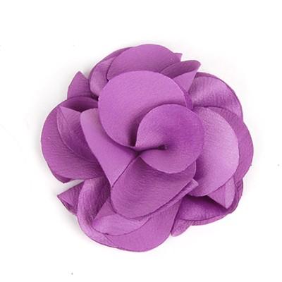 [헤어보우] Lovely Flower 헤어핀-Violet