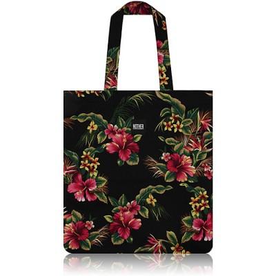 nother Hawaiian Flat Tote Bag (Black) / 나더 하와이안 플랫 토트백 (블랙)
