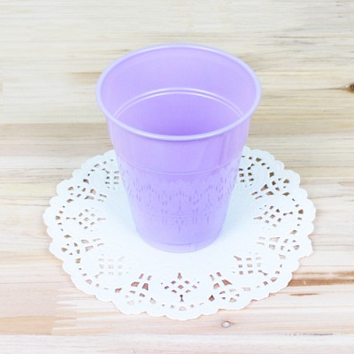파티용 칼라 컵-라벤더(10개입)