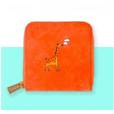 [kiitos]ANIMAL MINI WALLET-GIRAFFE