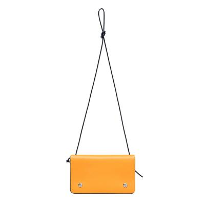 [조셉앤스테이시 가방]Matilda L Mix Crossbody Bag Flame Orange