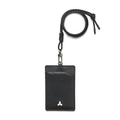 [코앤크릿] OBJECT 17WSN0101BB 심볼 목걸이 카드지갑 브릴리언트블랙