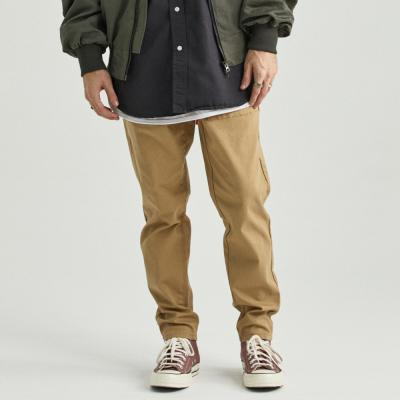 RELAX FIT COTTON FATIGUE PANTS (LIGHT BEIGE)면바지
