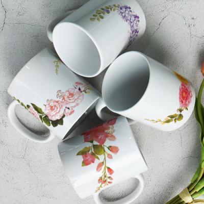 ij542-디자인머그컵4p-아름다운봄꽃