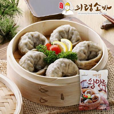 의령소바 메밀 왕만두 1.4kgx20알