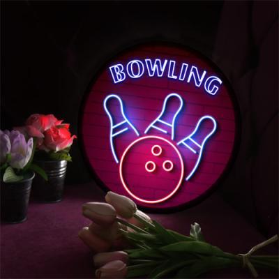 no177-LED액자25R_생활스포츠볼링