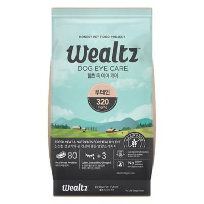 웰츠 독 아이케어 2.1kg 강아지사료
