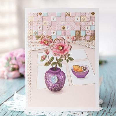 화병속 꽃 카드 FT1036-6