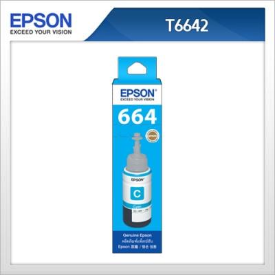 엡손(EPSON) 정품 잉크 T664200 파랑색 T6642 L100 / L110 / L200 / L210 / L300 / L350 / L355 / L550 / L555