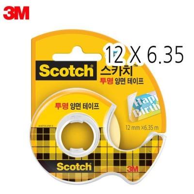 3M 스카치 투명양면테이프 136 [00031752]