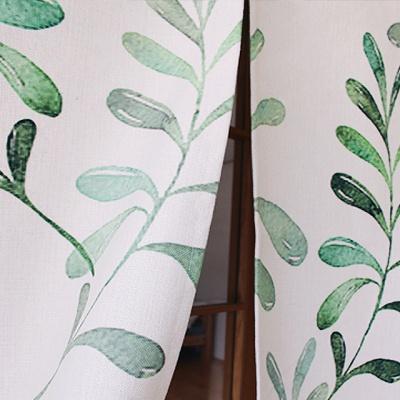 시바타 바란스 가리개커튼(나뭇잎)