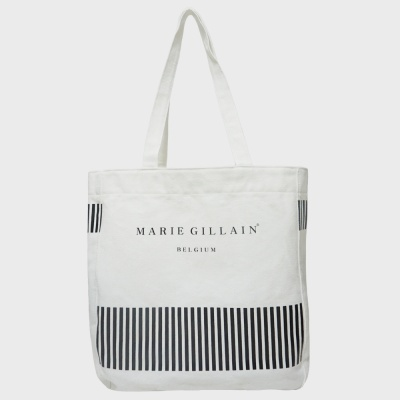 FLORENNES ECO BAG WHITE 텀블러 에코백