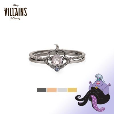 [디즈니 빌런] 우르술라 투웨이 프레임 실버 반지