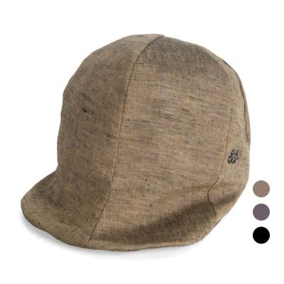 [디꾸보]린넨 절개 아이언패치 와이어 모자 JAN354
