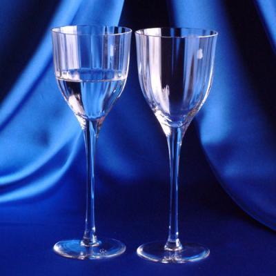 [마누크리스탈]테이블세팅시 세련된 크리스탈 ATE 와인잔(2P) 특이한와인잔