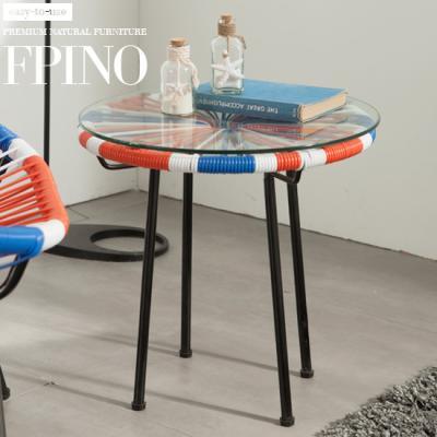 퍼피노 바네스 라탄형 테이블 ha039