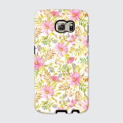 [듀얼케이스] Floral Leaf-B (갤럭시)