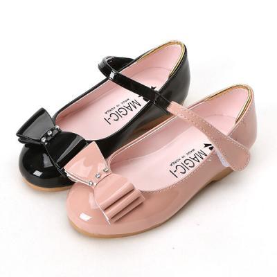 매직 에나멜리본 150-190 유아 키즈 여아용 구두 신발
