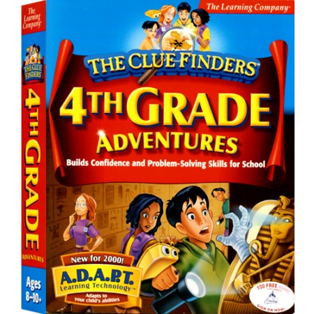 [CD-ROM] Clue Finders 4th Grade - 초등 4학년 종합학습