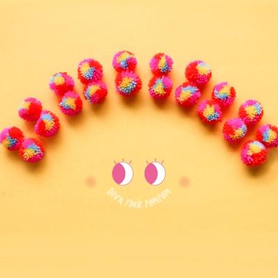 디바 핑크폼폼5p