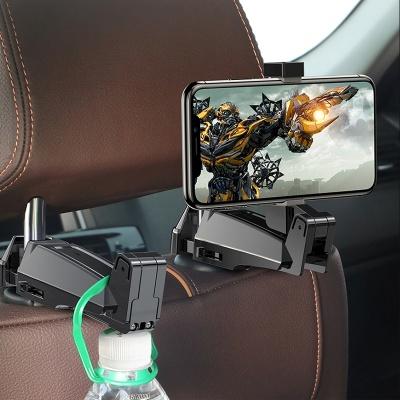 베이스어스 2in1 차량용 헤드레스트 스마트폰 거치대