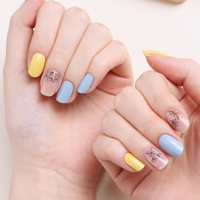 [글로시블라썸] 젤네일스티커 쁘띠 레몬그라스