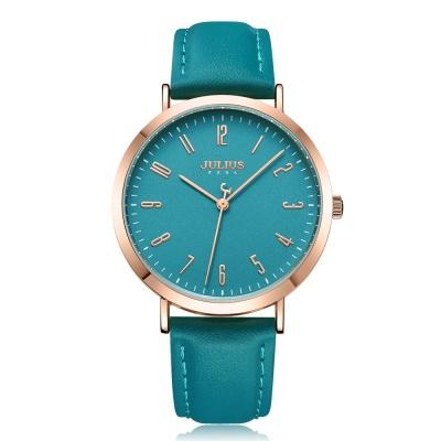 [쥴리어스공식] JA-1017 여성시계 가죽시계