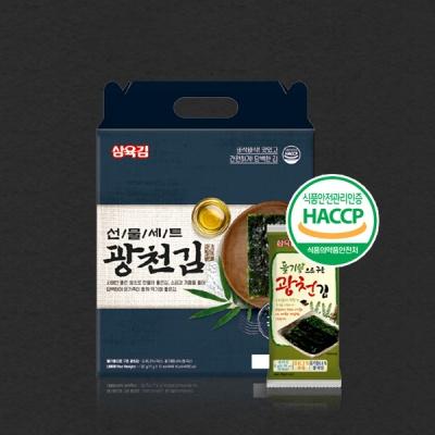 [식탁이야기] 광천 3호 선물세트 (11g X 12봉)