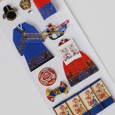 전통혼례 스티커 / 030-SK-0008