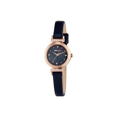 그레이스 쉘 시계 블랙 W206LWBK