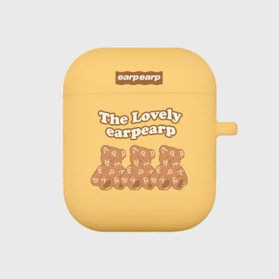 Triple soft bear-yellow(Air pods)