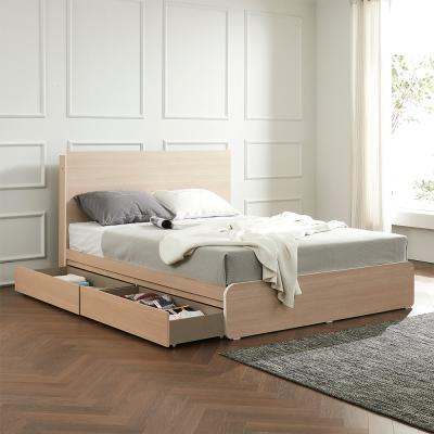 라우엔 호텔식 수납서랍형 침대Q+독립 매트리스