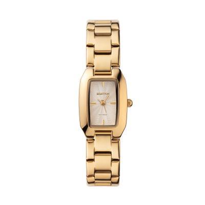 팔찌 시계 볼드한 여자 메탈 워치 럼튼 브릿 골드